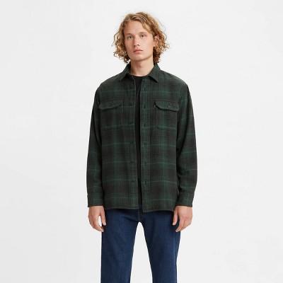 Levi's® Men's Plaid Flannel Long Sleeve Button-Down Shirt