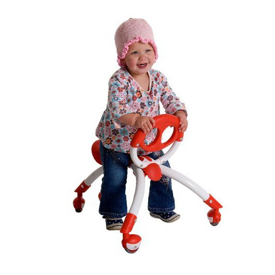 Pewi Kid's Ybike Push and Ride Toy - Red image number null