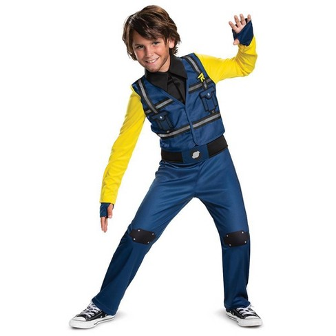 Boys' Lego Movie 2 Rex Dangervest Classic Jumpsuit Halloween Costume - image 1 of 2