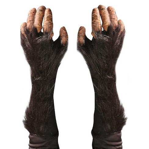Halloween Adult Chimp Gloves - image 1 of 1
