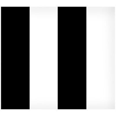 Devine Color Suit and Tie Peel & Stick Wallpaper Black/White