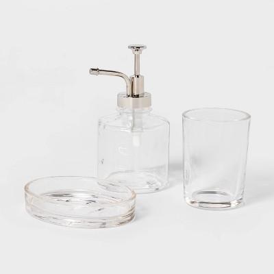 Oil Can Bath Coordinate Set Clear - Threshold™