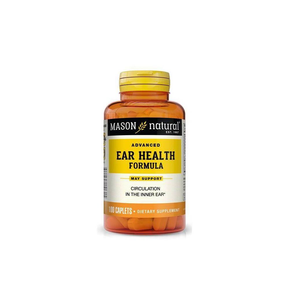 Mason Natural Advanced Ear Health Dietary Supplement 100ct