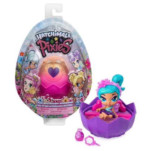 """Hatchimals Pixies 2.5"""" Collectible Doll and Accessories Blind Pack - image 1 of 8"""