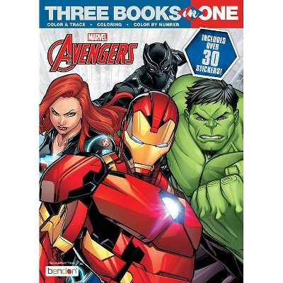 Avengers 3 in 1 Activity Book