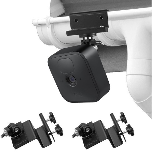 Wasserstein Weatherproof Gutter Mount for Blink Outdoor and Blink XT2 Outdoor Camera with Universal Adapter (2 Pack) - image 1 of 4