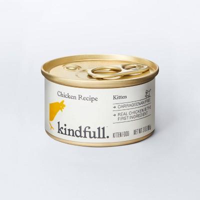 Chicken Recipe Kitten Wet Cat Food - 3oz - Kindfull™