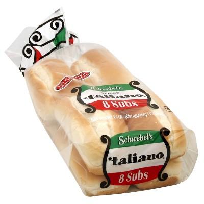Schwebel's Taliano Subs - 8oz/8ct