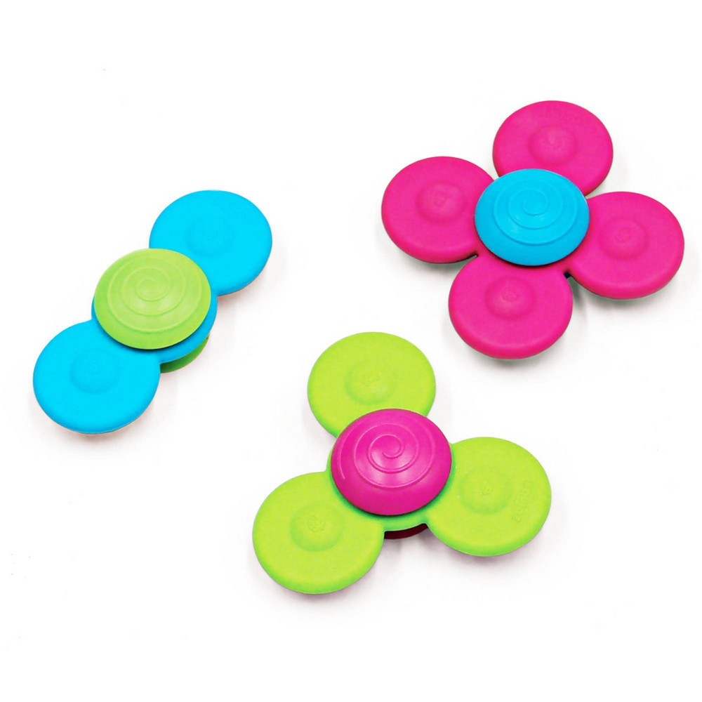 Fat Brain Toys Baby and Toddler Learning Toy WhirlySquigz Fat Brain Toys Baby and Toddler Learning Toy WhirlySquigz Gender: Unisex.