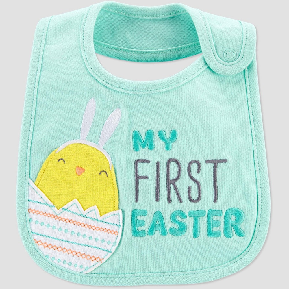 Baby 'My First Easter' Bib - Just One You made by carter's Blue was $4.99 now $3.49 (30.0% off)