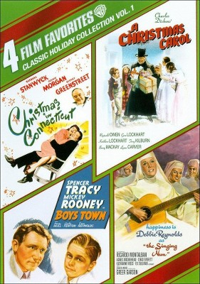 Classic Holiday Collection, Vol. 1: 4 Film Favorites (DVD)
