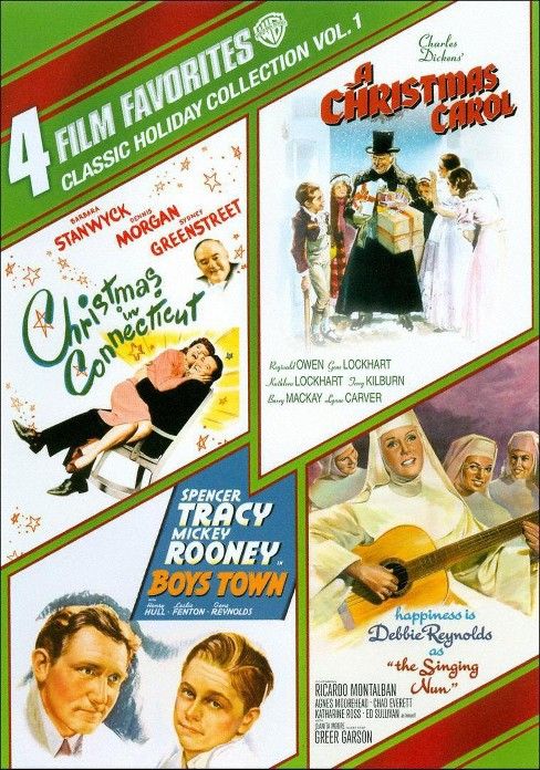 Classic Holiday Collection, Vol. 1: 4 Film Favorites (4 Discs) (dvd_video) - image 1 of 1