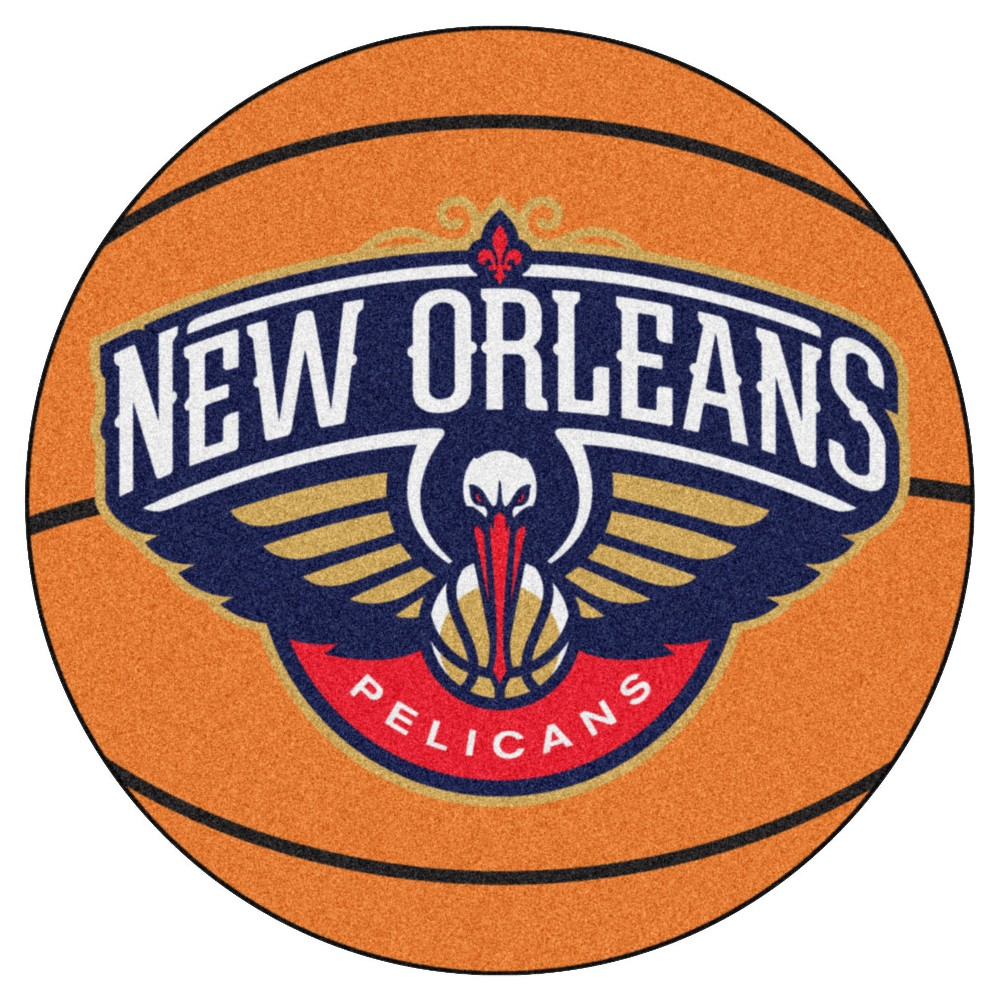 NBA New Orleans Pelicans Basketball Mat 27 Diameter
