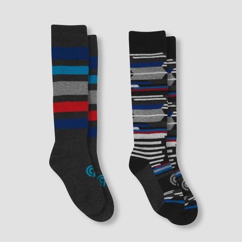Boys' Warmest 2pk Over the Calf Socks Casual socks - C9 Champion® - image 1 of 4