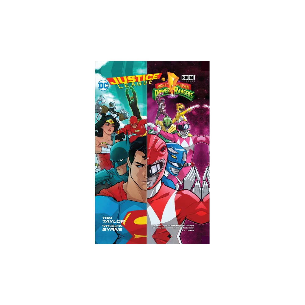 Justice League / Power Rangers - by Tom Taylor (Hardcover)