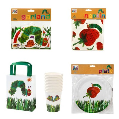 The Very Hungry Caterpillar Party Décor and Accessory Bundle