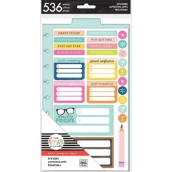 Teacher Icons Sticker Pack - The Happy Planner : Target
