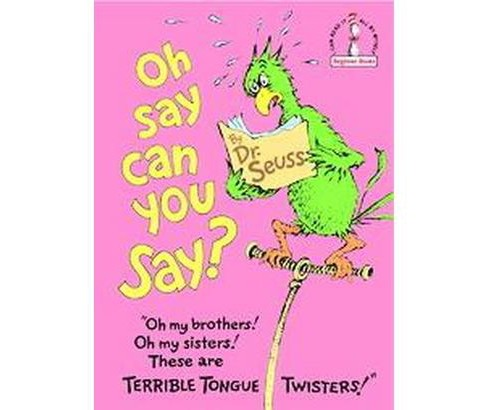 Oh Say Can You Say? (Beginner Books)(Hardcover) by Dr. Seuss - image 1 of 1