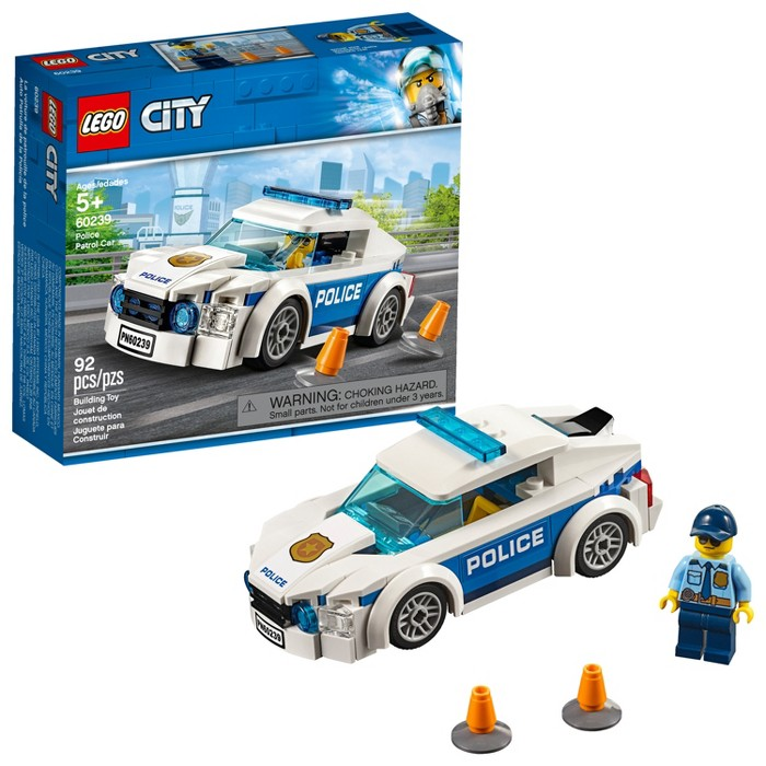 LEGO City Police Patrol Car 60239 - image 1 of 6