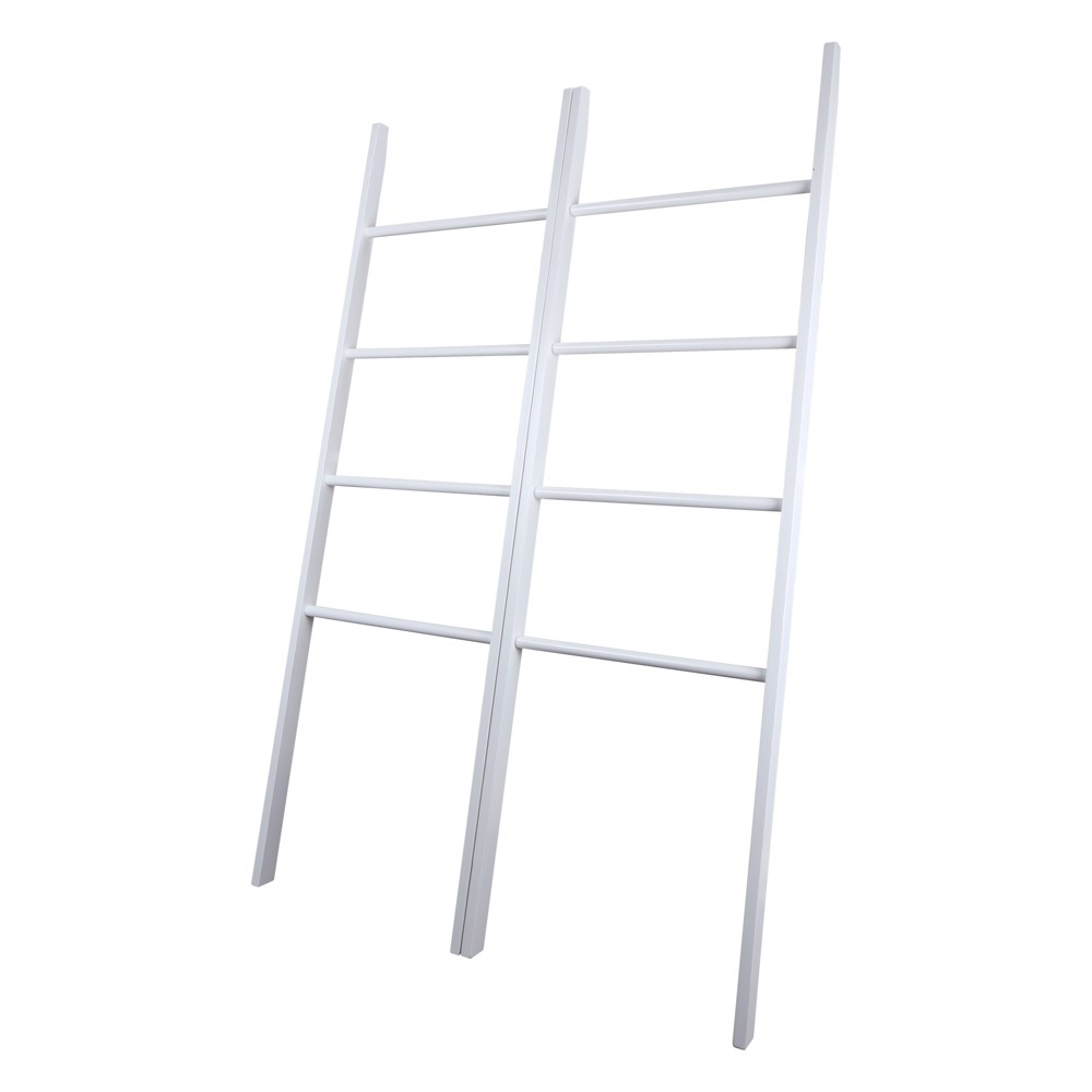 Decorative Twin Ladders White - Flora Home