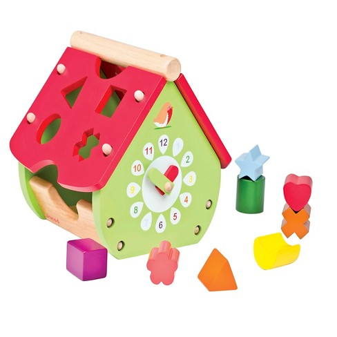 Janod Garden House of Shape Sorter - image 1 of 1