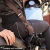 Barber Shop Full Beard Single Bridle Cross Body Camera Strap, Dark Brown Leather - image 4 of 4