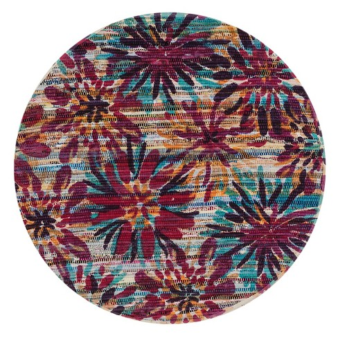 Loloi Aria Accent Rug - Ivory (3' Round) - image 1 of 1