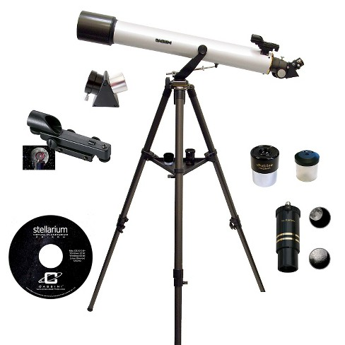 Cassini 800mm x 72mm Astronomical and Terrestrial/Land Telescope Kit  - white - image 1 of 2