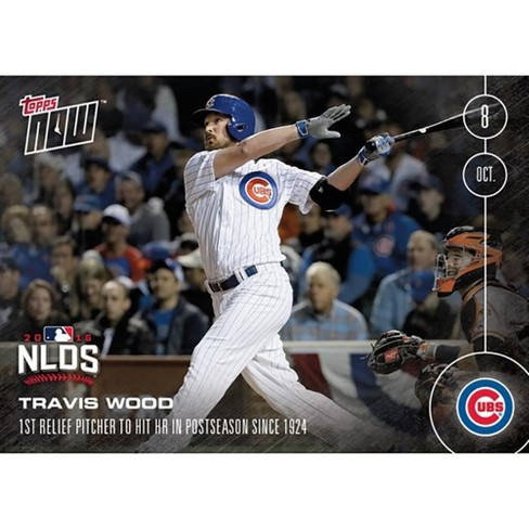 MLB Chicago Cubs Travis Wood #556 2016 Topps NOW Trading Card - image 1 of 2