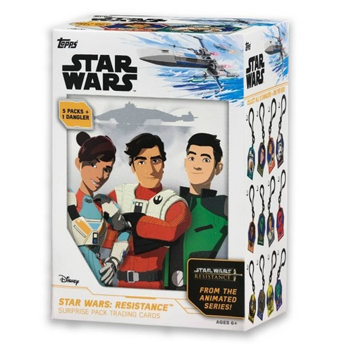 Topps Star Wars: Resistance Surprise Pack Trading Card Blaster Box - image 1 of 4
