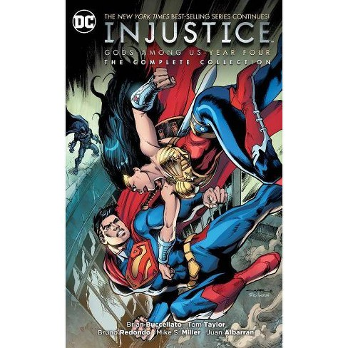 Injustice: Gods Among Us Year Four - The Complete Collection - by  Brian Buccellato (Paperback) - image 1 of 1