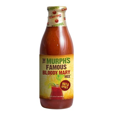The Murph's Famous Hot and Spicy Bloody Mary Mix - 1L Bottle