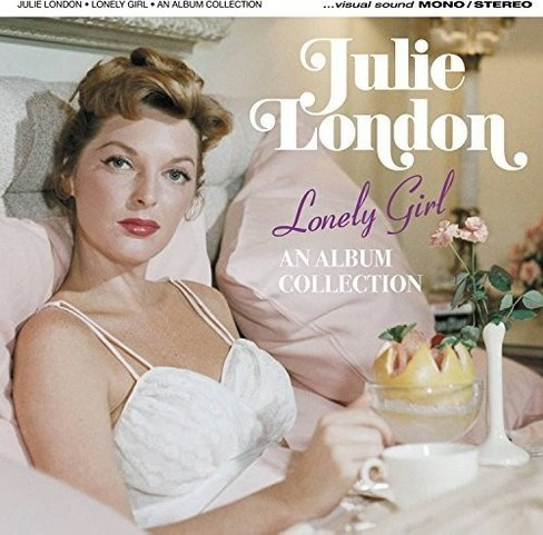 Julie london - Lonely girl/Calendar girl/About the b (CD) - image 1 of 1