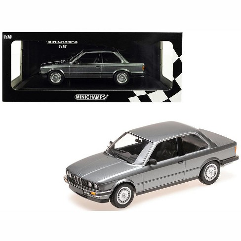 1982 BMW 323i Metallic Gray Limited Edition to 400 pieces Worldwide 1/18 Diecast Model Car by Minichamps - image 1 of 4