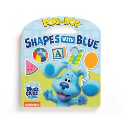 Melissa & Doug Blues Clues & You! Poke-a-dot Shapes with Blue