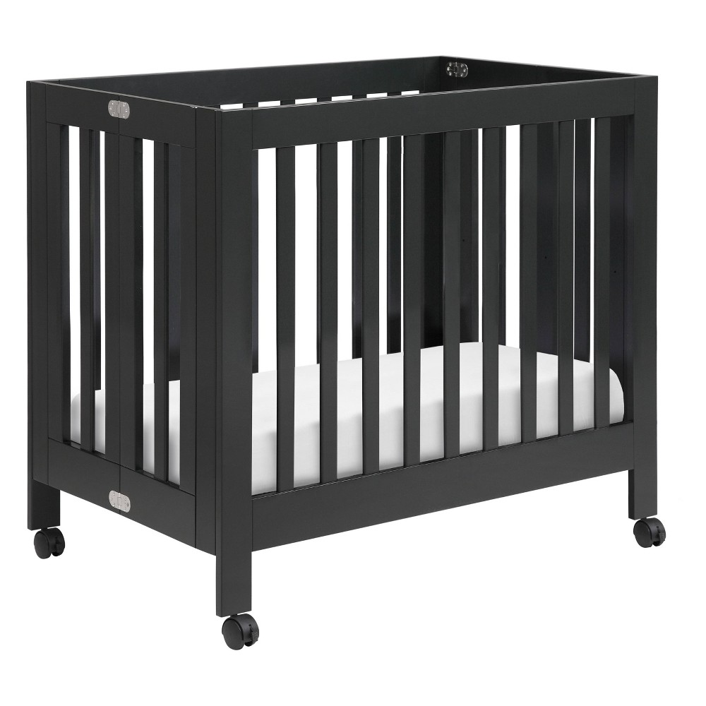 Image of Babyletto Origami Mini Crib - Black