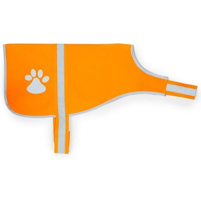 Okuna Outpost Reflective Dog Harness, Orange Safety Vest, Size Medium