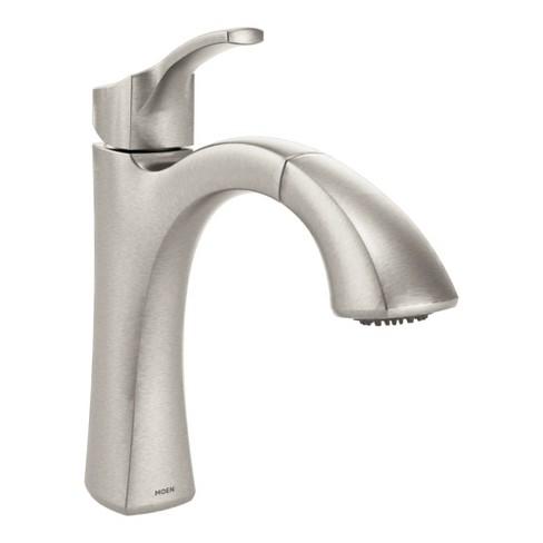 Moen 9125 Voss Pullout Spray Kitchen Faucet With Duralock And Reflex Technologies Spot Resist Stainless Target