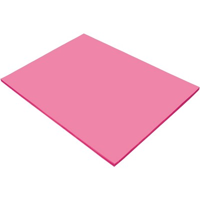 Tru-Ray Sulphite Construction Paper, 18 x 24 Inches, Shocking Pink, 50 Sheets
