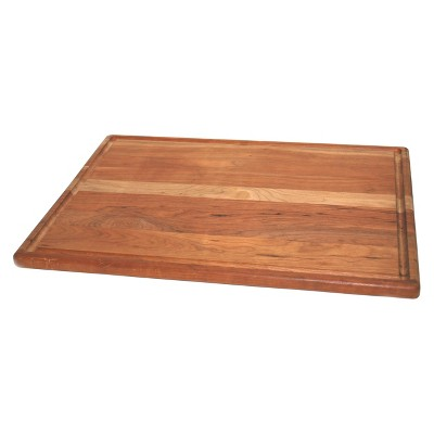 La Baie de l'artisan 16  X 20  X 0.75  Cherry Roast with Groove Cherry