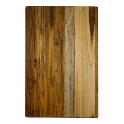 "Architec Madeira Teak Edge-Grain Jumbo Cutting Board and Chop Block 23""x15""x1.25"""