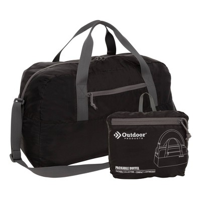 Outdoor Products 58L Packable Duffel Bag - Black