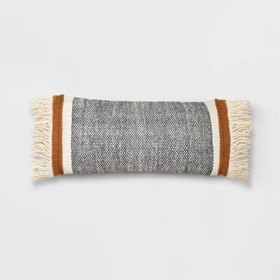 Oversized Lumbar Striped Throw Pillow - Threshold™