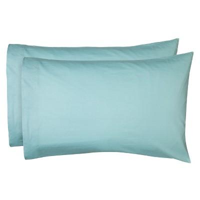 Jersey Pillow Case Set Set - (King)Aqua - Room Essentials™