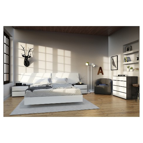 5 Piece Acapella Queen Size Bedroom Set - Nexera