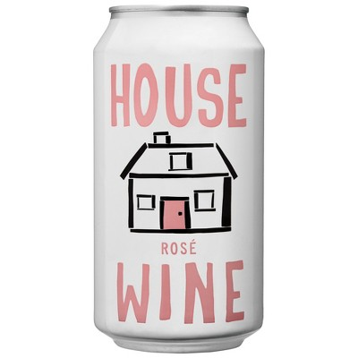 House Wines Rose Wine - 375ml Can
