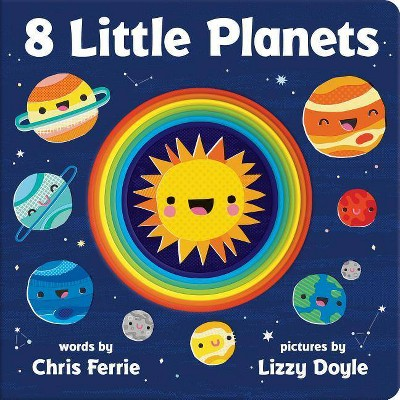 8 Little Planets - by Chris Ferrie (Board_book)