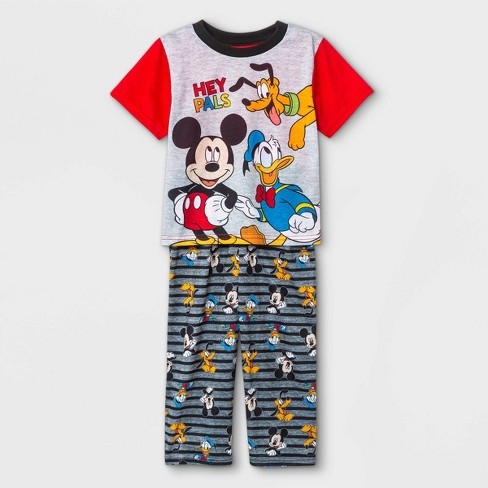 Toddler Boys' 2pc Mickey Mouse & Friends Pajama Set - Red - image 1 of 1