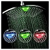 "12"" LED/LCD Rainfall showerhead Chrome - DreamSpa - image 2 of 4"
