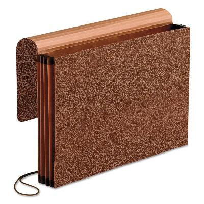 Pendaflex Premium Reinforced Expanding Wallet 1 Pocket Legal Brown 60373